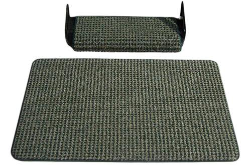 Walk off step mat black sand